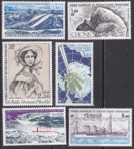 French Southern & Antarctic Territory Sc #C64-C69 MNH