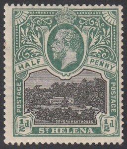 St. Helena 61 MH CV $3.25