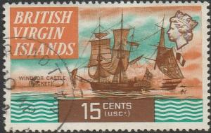 British Virgin Islands, #216 Used From 1970