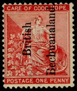 BECHUANALAND SG31, 1d carmine-red, M MINT. Cat £13.