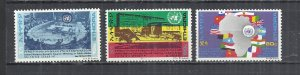 ETHIOPIA 1972 - UNITED NATIONS SAFETY CONFERENCE - CPL. SET - MNH MINT