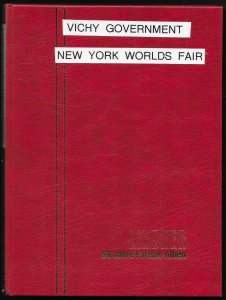 FRANCE COLONIES (200+) stamps VICHY Gov't NY World's Fair sets All Mint Unused