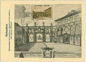 14681 - BELGIUM - POSTAL HISTORY -  MAXIMUM CARD   1948 ARCHITECTURE