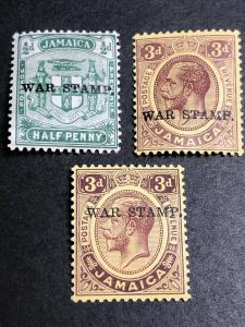 Jamaica Scott MR1-3 Mint OG CV $41
