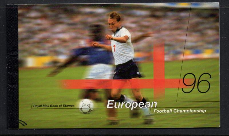 Great Britain Sc BK161 1996 Soccer Prestige Booklet mint NH