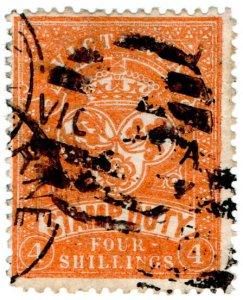 (I.B) Australia - Victoria Revenue : Stamp Duty 4/-