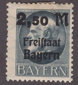 Bavaria 233 King Ludwig III O/P 1919