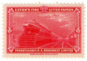 (I.B) US Cinderella : Eaton's Fine Letter Papers (Locomotive)