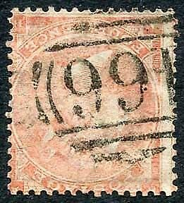 SG80wi 4d pale-red plate 3 Wmk INVERTED Cat 375 Pounds