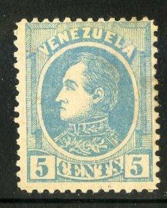 VENEZUELA 68 (1) PROBABLY FAKE M NO GUM SCV $15.00 BIN $2.50