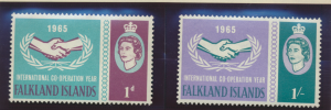 Falkland Islands Stamps Scott #156 To 157, Mint Never Hinged - Free U.S. Ship...