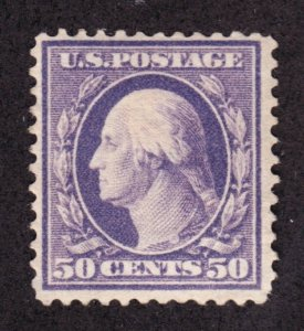 US 341 50c Washington VF OG LH SCV $300