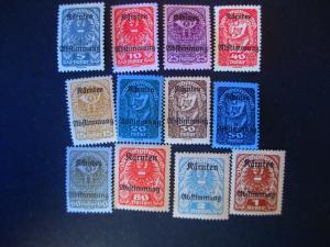 Austria #B11-22 Mint Hinged- (JB1) WDWPhilatelic