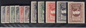 Ecuador - 1946 - SC 465-70,C156-60 - NH - 2 complete sets