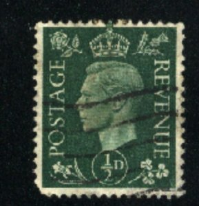 Great Britain #235  used VF 1937-39 PD