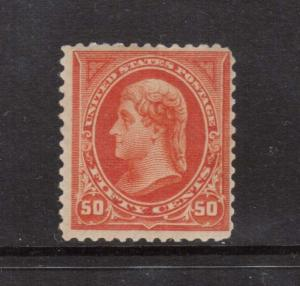 USA #275 NH Mint Scarce Watermarked Stamp