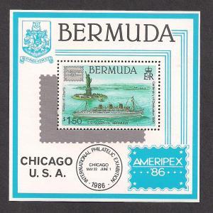 BERMUDA SC# 508 F-VF MNH 1986