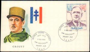 French Southern and Antarctic Terr., Worldwide First Day Cover
