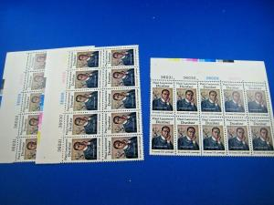 U.S. SCOTT # 1554  -  PLATE BLOCKS of 10 -  LOT of 3     MNH