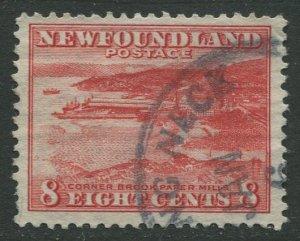 STAMP STATION PERTH Newfoundland #209 Pictorial Definitive 1932 Used- CV$1.20