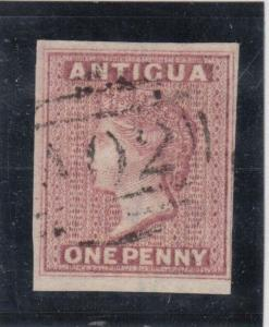 Antigua #2b VF Used **With Certificate**