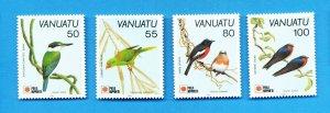 VANUATU - Scott 543-545 - VFMNH  - Birds, 1991