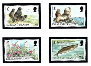 Falkland Is 686-89 MNH 1997 Endandered Species