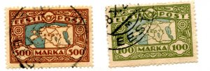 ESTONIA  78-79  USED