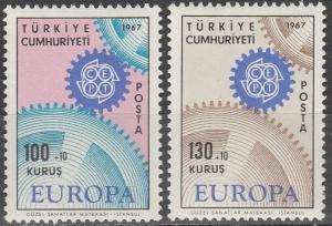 Turkey #B120-1 MNH F-VF CV $3.50 (V568)