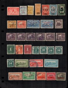 Nicaragua  33 diff MH and used