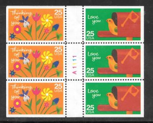 #2397-98A MNH Complete Booklet Pane