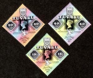 Tuvalu 539-541 Mint NH MNH Stamp World 90!