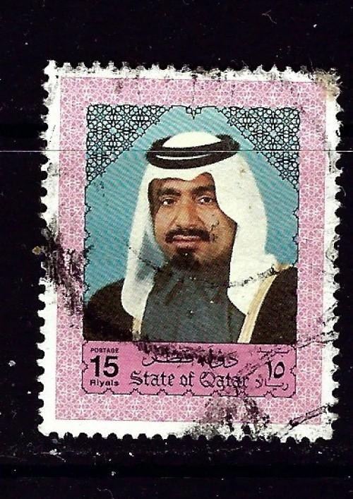 Qatar 802 Used 1992 Issue
