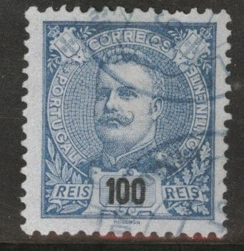Portugal Scott 124 Used from 1899-1905 King Carlos set