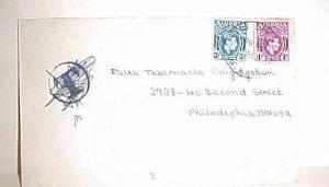 NIGERIA CAMEROUNS UUKT TO USA 1950  ---KO