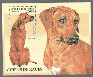 Benin 1997 -Mint NH Souvenir Sheet - Scott #986