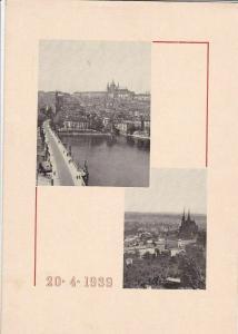 BOHMEN & MAHREN FUHRERS 50th BIRTHDAY PRESTIGE STAMP BOOKLET 1939  R3011