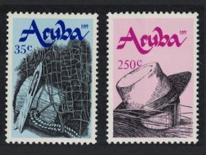Aruba Traditional Crafts 2v SG#99-100
