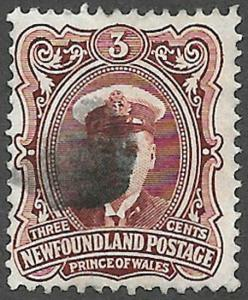Newfoundland Scott Number 106 F Used