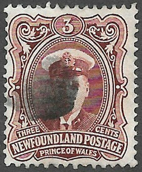 Newfoundland Scott Number 106 F Used