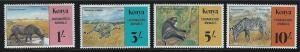 Kenya SC355-358 Endangered Wildlife MNH 1985