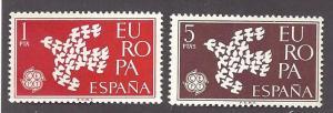 Spain Scott 1010-1011  Mint