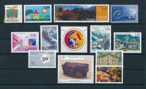 French Andorra 1999 Complete year set  MNH