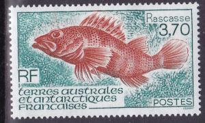 French Southern & Antarctic Territories 1994 Rascasse  Fish  VF/NH