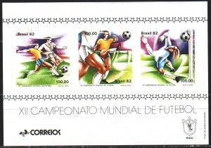 Brazil. 1982. bl 48. Spain, FIFA World Cup. MNH.