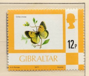 Gibraltar 1977 QEII Early Issue Fine Mint Unmounted 12p. NW-99234