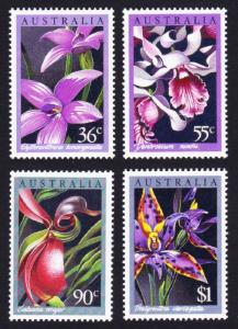 Australia Native Orchids 4v SG#1032-1035 SC#997-1000