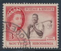Southern Rhodesia  SG 81 SC# 84 Used Farm Worker