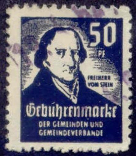 Germany - 50 pfg Municipal Revenue Stamp