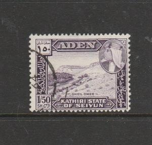 Aden 1964 Issue 1s 50c FU SG 41